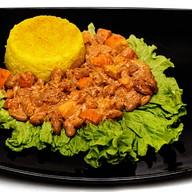 Апельсиновый рис с фасолью Фото
