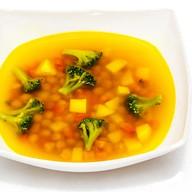 Суп из нута и брокколи Фото