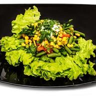 Салат со стручковой фасолью Фото
