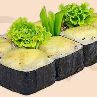 Запеченный с лососем Фото