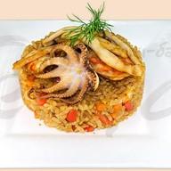 Гохан с морепродуктами Фото