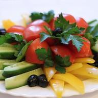 Сет из свежих овощей Фото