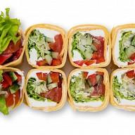 Тортильяс с овощами Фото