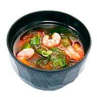 Мисо суп эби Фото