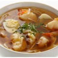 Эби удон суп Фото