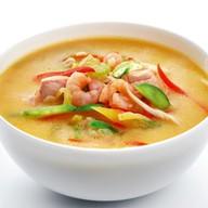 Суп из морепродуктов Фото