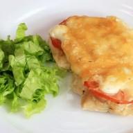 Куриное филе с сыром и помидором Фото