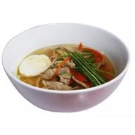 Острый суп со свининой Фото