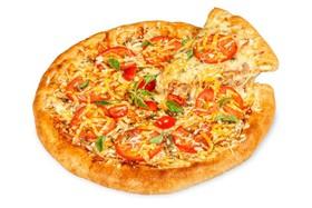 Пицца с цыпленком - Фото