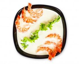 Сырный суп с креветками - Фото