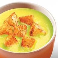 Суп-пюре картофельный со сливками Фото