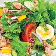 Салат с тунцом Фото
