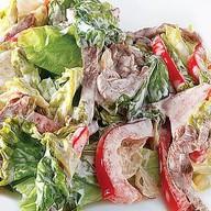 Салат с телятиной, сладким перцем Фото