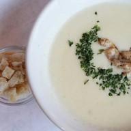 Суп дня ланч Фото