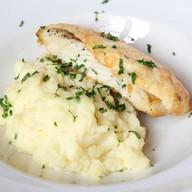 Запеченная белая рыба ланч Фото