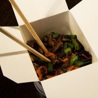 Фо-Хо с овощами и телятиной под соусом Фото