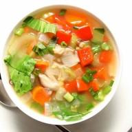 Суп овощной Фото