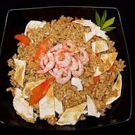 Рис жареный с креветкой Фото