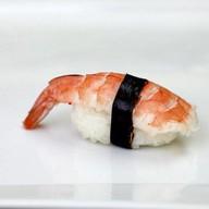 Эби суши с креветками Фото