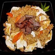 Рис жареный с говядиной Фото