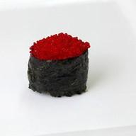 Тобико гункан с икрой Фото