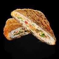 Темпура сендвич сяке Фото