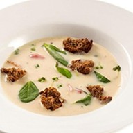 Суп-крем из белых грибов Фото