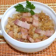 Рис с беконом Фото
