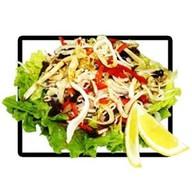 Салат с кальмаром и фунчезой Фото