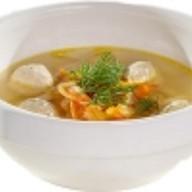 Домашний куриный суп с лапшой Фото