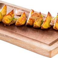 Картофель айдахо с соусом Фото