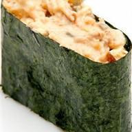 Суши гункан с угрем Фото
