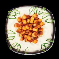 Суп-пюре с сухариками Фото