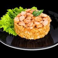 Рис с сёмгой Фото
