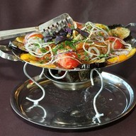 Садж-кебаб из бараньего седла Фото