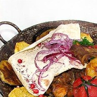 Садж-кебаб из ягненка Фото