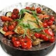 Садж-кебаб из телячьей мякоти Фото