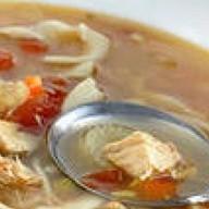 Суп из индейки Фото