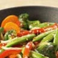 Овощи жареные Фото