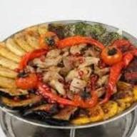 Садж-кебаб из свинины Фото
