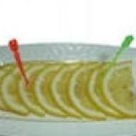 Лимон в нарезке Фото