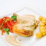 Цыплёнок со сливочно-ореховой корочкой Фото
