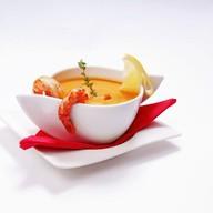 Крем-суп с креветками Фото