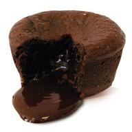 Шоколадное пирожное Coulant Фото