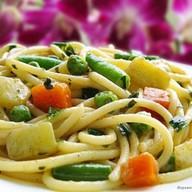 Паста с овощами Фото