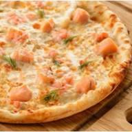 """Пицца """"Семга с креветками"""" Фото"""