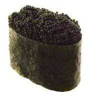 Суши тобико черная Фото