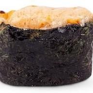 Горячий гункан 4 сыра Фото