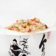Рис со свининой Фото