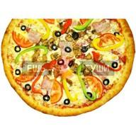 Мега пицца Фото
